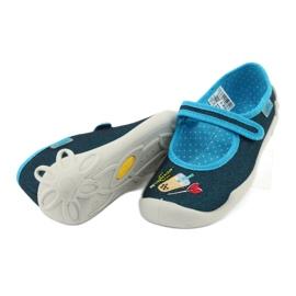 Încălțăminte pentru copii Befado 114Y385 albastru marin albastru 4