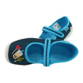 Încălțăminte pentru copii Befado 114Y385 albastru marin albastru 5