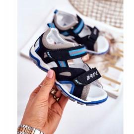 Bartek S.A. Sandale pentru copii pentru băieți Profilactic Bartek T-16176-7 / 0KP albastru marin 3