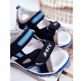 Bartek S.A. Sandale pentru copii pentru băieți Profilactic Bartek T-16176-7 / 0KP albastru marin 4