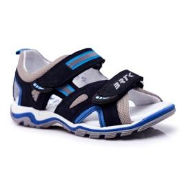 Bartek S.A. Sandale pentru copii pentru băieți Profilactic Bartek T-16176-7 / 0KP albastru marin 1