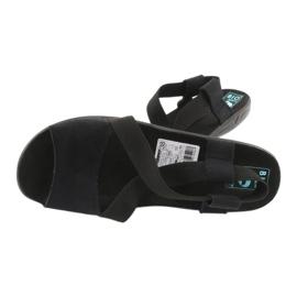 Sandale negre pentru femei Adanex 17498 negru 4