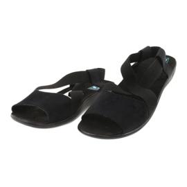 Sandale negre pentru femei Adanex 17498 negru 2