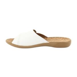 Befado femei pantofi pu 265D002 alb 2