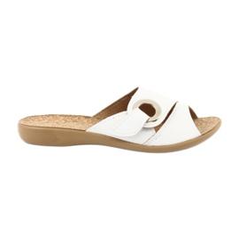 Befado femei pantofi pu 265D002 alb 1