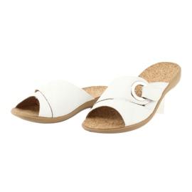 Befado femei pantofi pu 265D002 alb 3