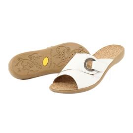 Befado femei pantofi pu 265D002 alb 4