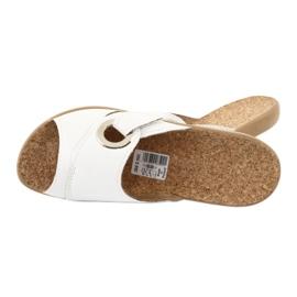 Befado femei pantofi pu 265D002 alb 5