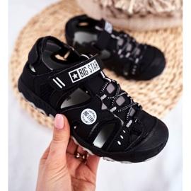 Sandale copii Big Star cu velcro negru FF374210 2