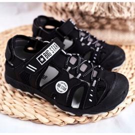 Sandale copii Big Star cu velcro negru FF374210 1