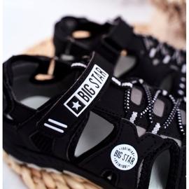 Sandale copii Big Star cu velcro negru FF374210 4