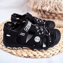 Sandale copii Big Star cu velcro negru FF374210 3