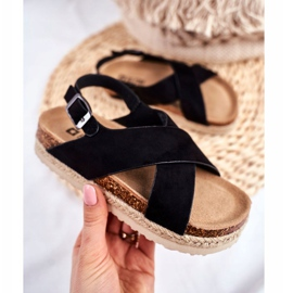 Sandale copii Big Star Black FF374168 negru 2