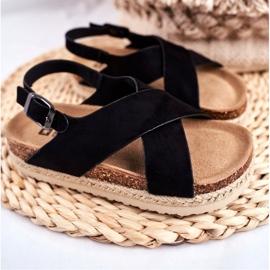 Sandale copii Big Star Black FF374168 negru 1