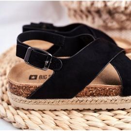 Sandale copii Big Star Black FF374168 negru 3