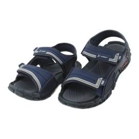 Sandale băieți 82817 Rider TENDER XI KIDS albastru marin albastru gri 2