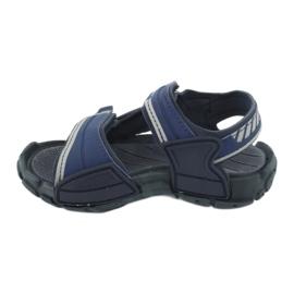 Sandale băieți 82817 Rider TENDER XI KIDS albastru marin albastru gri 1