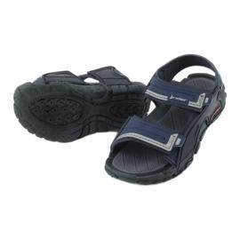 Sandale băieți 82817 Rider TENDER XI KIDS albastru marin albastru gri 3