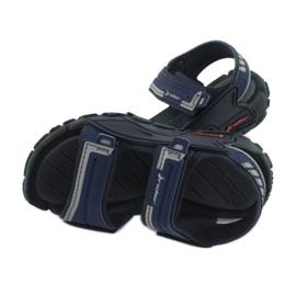 Sandale băieți 82817 Rider TENDER XI KIDS albastru marin albastru gri 4