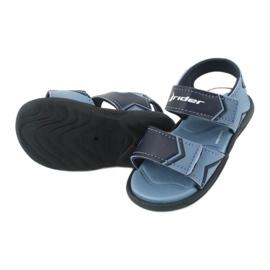 Sandale pentru copii RIDER Comfort BABY 82746 albastru marin albastru 3