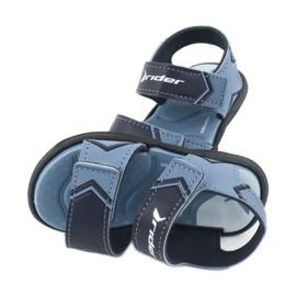 Sandale pentru copii RIDER Comfort BABY 82746 albastru marin albastru 4