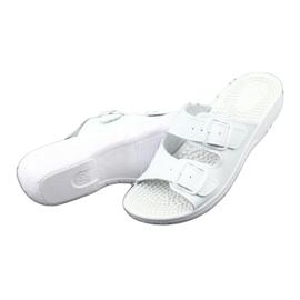 Flip flops de sănătate albă Comfooty Nadia 3