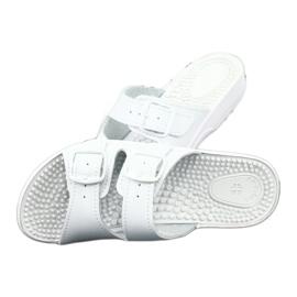 Flip flops de sănătate albă Comfooty Nadia 4