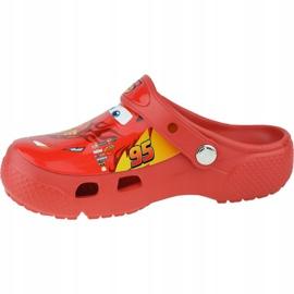 Crocs Fun Lab Cars Clog Jr 204116-8C1 roșu gri 1
