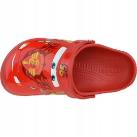 Crocs Fun Lab Cars Clog Jr 204116-8C1 roșu gri 2
