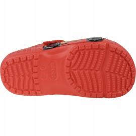 Crocs Fun Lab Cars Clog Jr 204116-8C1 roșu gri 3