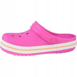 Crocs Crocband Clog K Jr 204537-6QZ roz gri 1