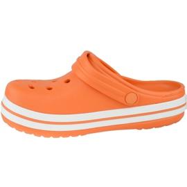 Crocs Crocband Clog K Jr 204537-810 portocale gri 1