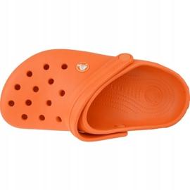 Crocs Crocband Clog K Jr 204537-810 portocale gri 2