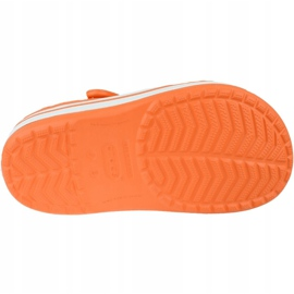 Crocs Crocband Clog K Jr 204537-810 portocale gri 3