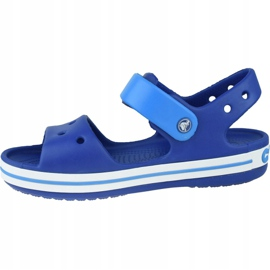 Sandale Crocs Crocband Jr 12856-4BX albastru marin 1