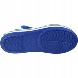 Sandale Crocs Crocband Jr 12856-4BX albastru marin 3