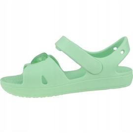 Sandală Crocs Classic Cross-Strap K 206245-3TI albastru 1