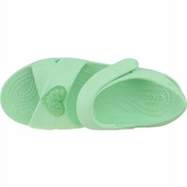 Sandală Crocs Classic Cross-Strap K 206245-3TI albastru 2