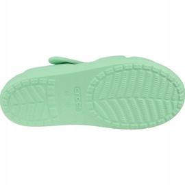 Sandală Crocs Classic Cross-Strap K 206245-3TI albastru 3