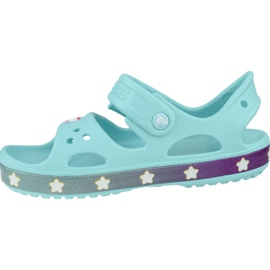 Sandală Crocs Fun Lab Unicorn Charm K 206366-4O9 albastru 1