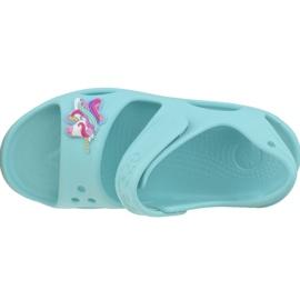 Sandală Crocs Fun Lab Unicorn Charm K 206366-4O9 albastru 2