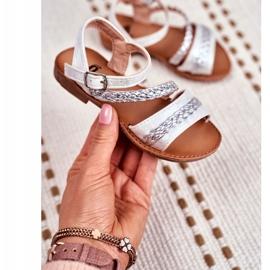 FRROCK Sandale Kremo pentru copii argintii gri 1