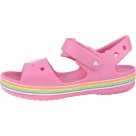Sandală Crocs Imagination Ps 206145-669 negru roz 1
