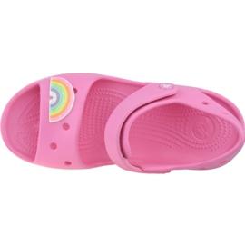 Sandală Crocs Imagination Ps 206145-669 negru roz 2
