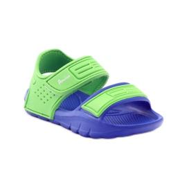 Sandale American Club pentru apă albastru verde 1