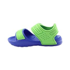 Sandale American Club pentru apă albastru verde 2
