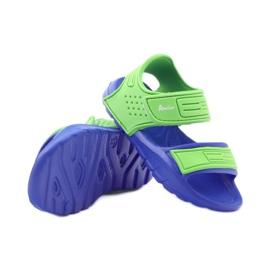 Sandale American Club pentru apă albastru verde 3