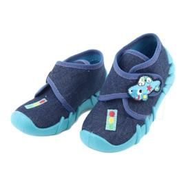 Încălțăminte pentru copii Befado 523P015 albastru marin albastru 3
