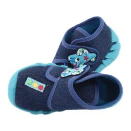Încălțăminte pentru copii Befado 523P015 albastru marin albastru 5