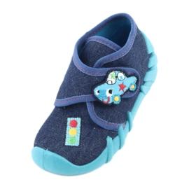 Încălțăminte pentru copii Befado 523P015 albastru marin albastru 2